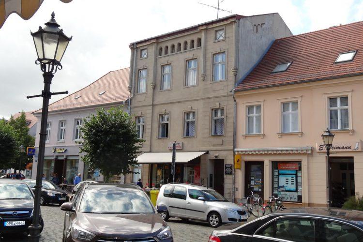 Wohn- und Geschäftshaus in Neuruppins Haupteinkaufsstraße